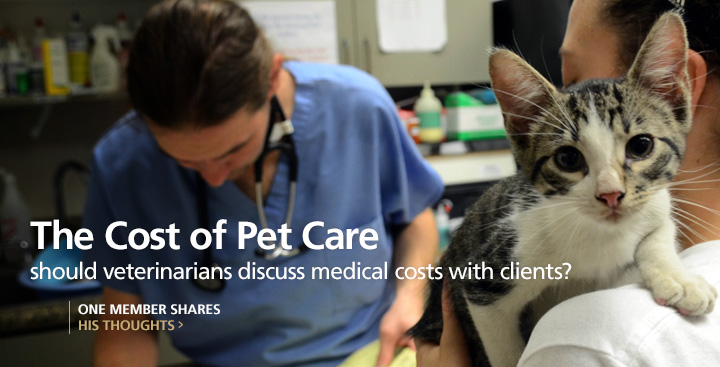 Should Veterinarians Discuss the Costs of Health Care with Our Clients?