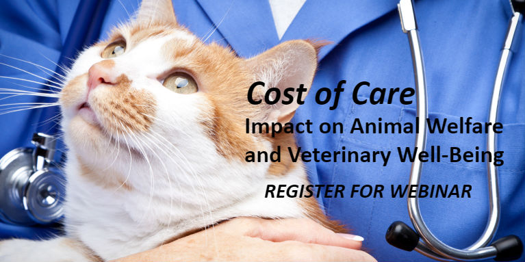 Cost of Care Impacts Pets and Vets: Register for Webinar